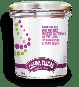 Crema Ciscar - Alimento de alto valor PREBIÓTICO, PROBIÓTICO Y ANTIOXIDANTE